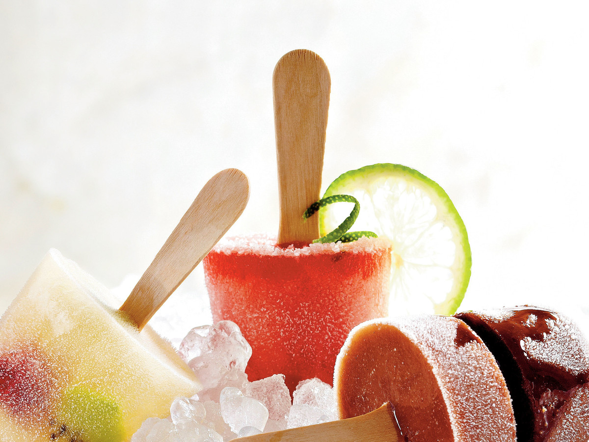 Watermelon Margarita Pops