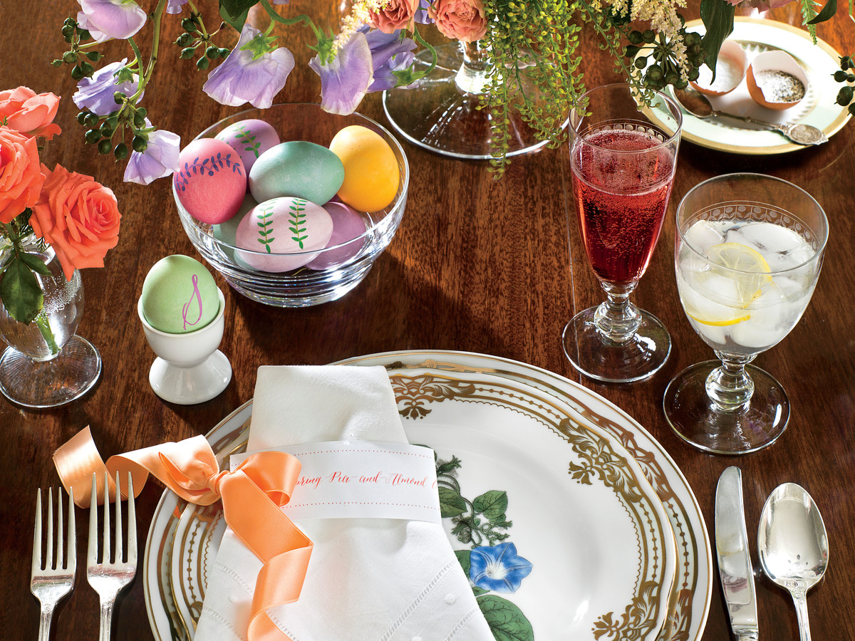 Candy-Colored Easter Table