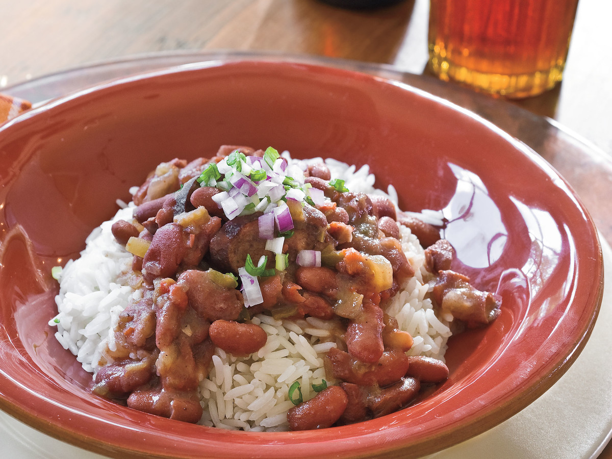 Slow-Cooker Red Beans and Rice