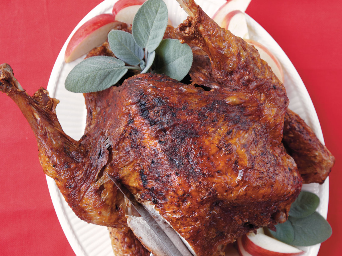 Two-Alarm Deep Fried Turkey