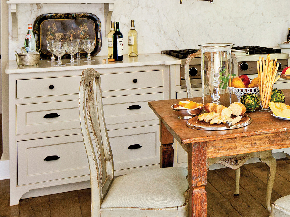 Country Home Kitchen