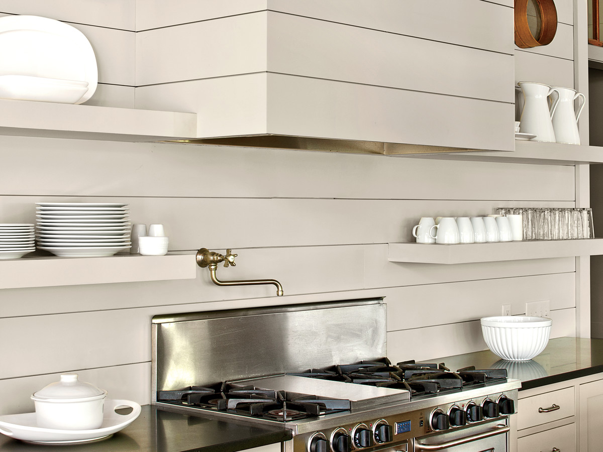 Kitchen Details: Camouflaged Hood