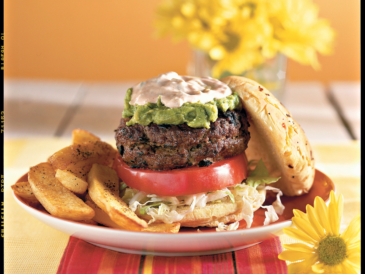 What's for Supper? Burgers and Fries