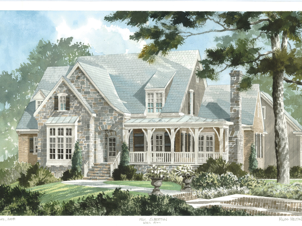 Why we love southern living house plan number 1870 for Southern living house plans with keeping rooms