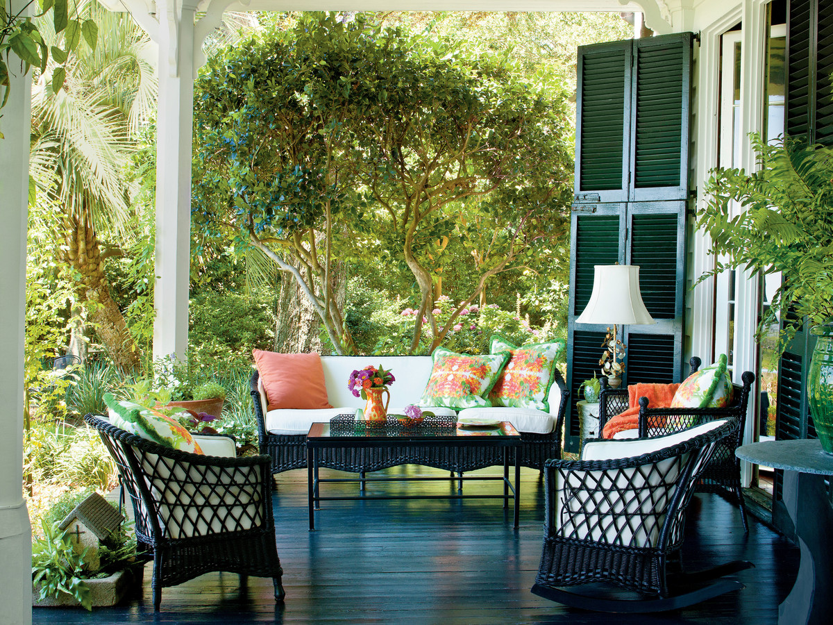 Charming Southern Front Porch
