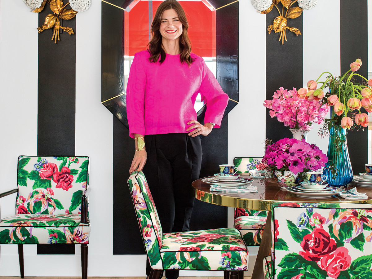 Barrie Bensons Edgy Approach To Chintz