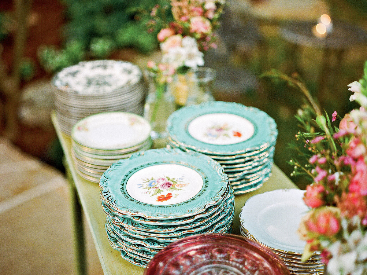 Vintage Wedding China