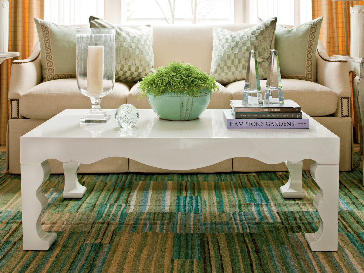 & How To Decorate A Coffee Table - Southern Living