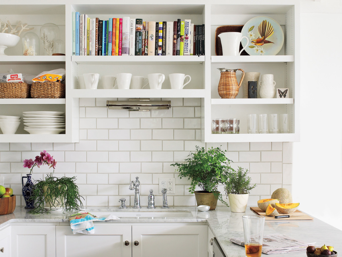 Decordots Contemporary Kitchen With Open Shelving: The One Thing I Wish I Knew Before I Chose Open Shelving