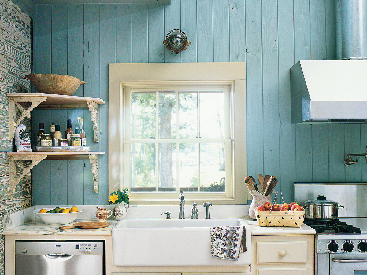 Small Kitchen? Try a Hanging Vegetable Basket - Southern Living