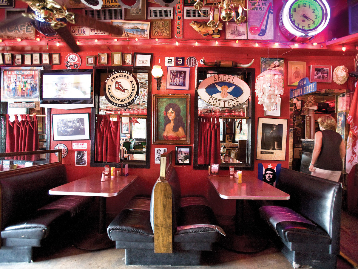 red bar interior
