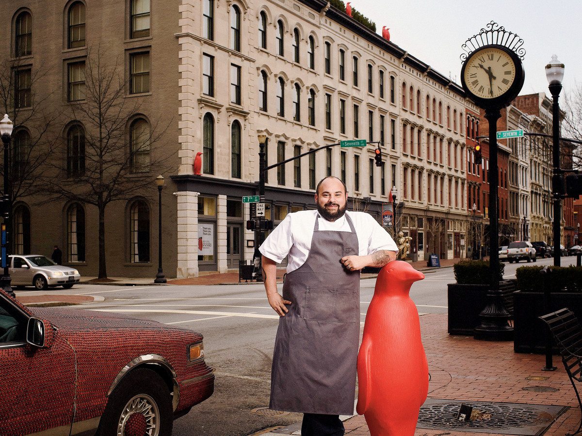 Chef Michael Paley of Proof on Main