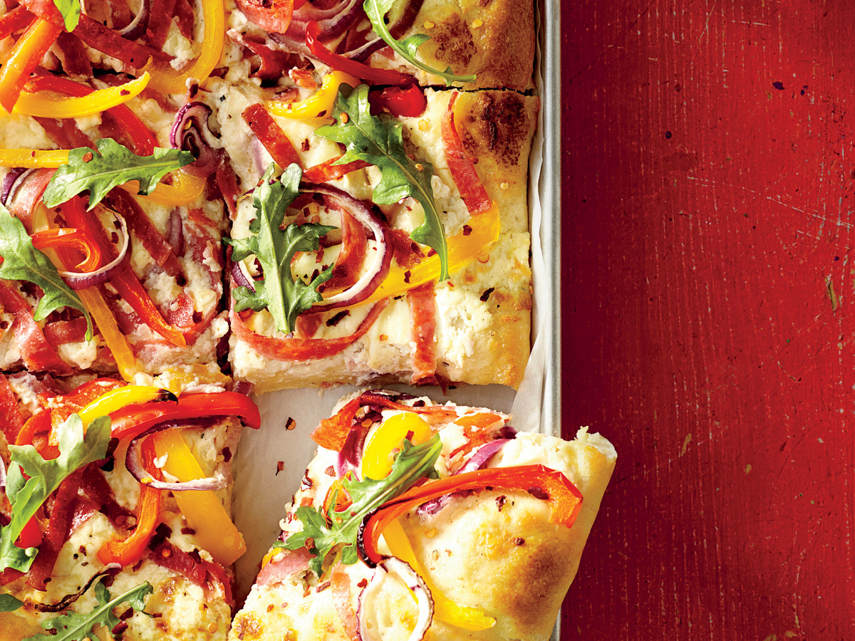 Sheet Pan White Pizza
