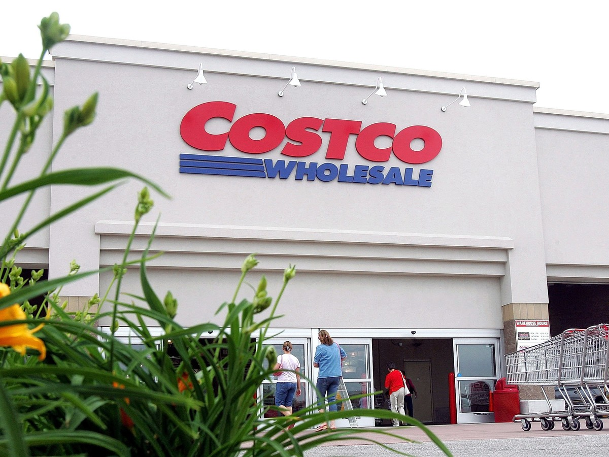 Costco Wholesale Entrance