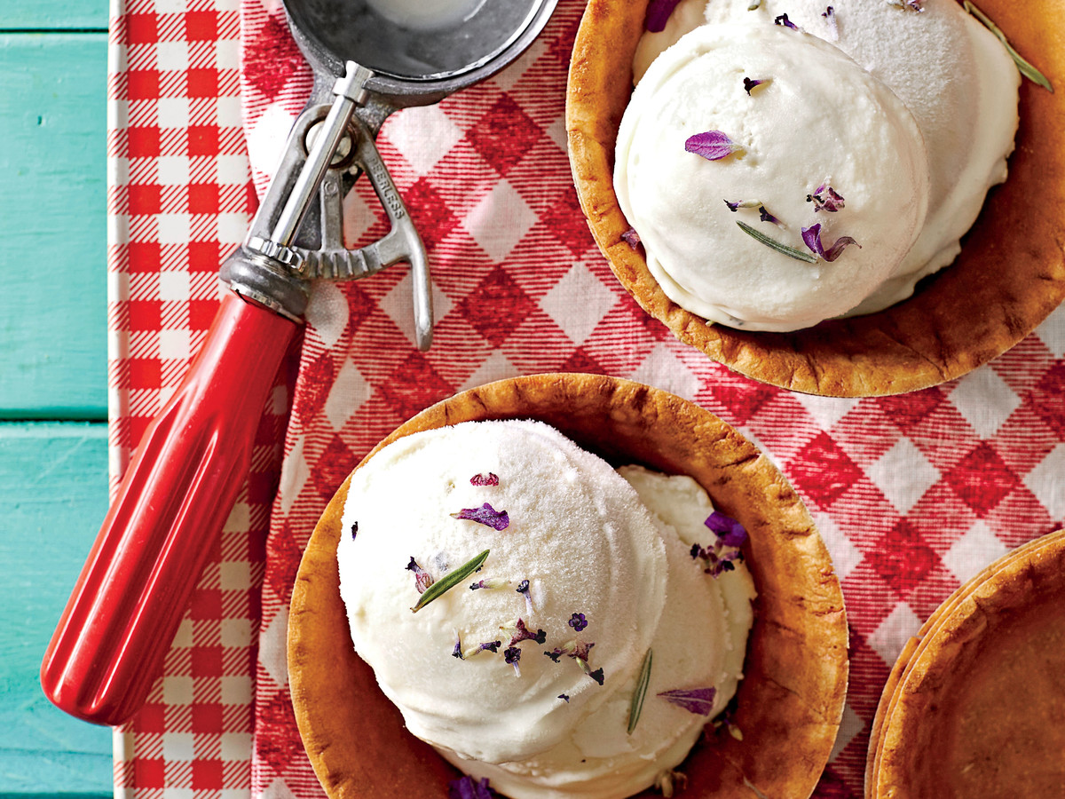 lemon-lavender ice cream