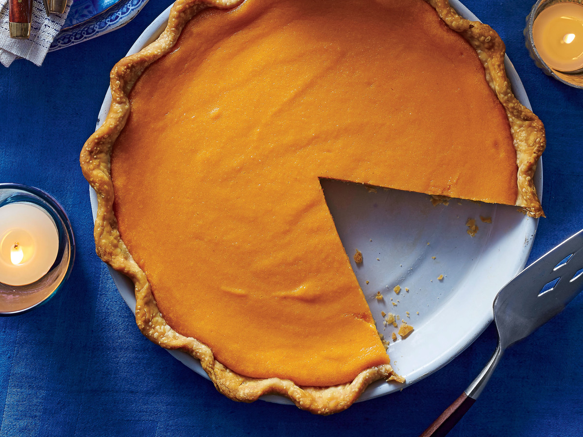 Brown Butter Sweet Potato Pie