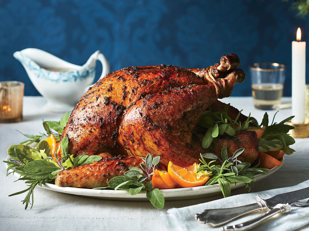 Roasted Herb Turkey and Gravy Recipe - Southern Living