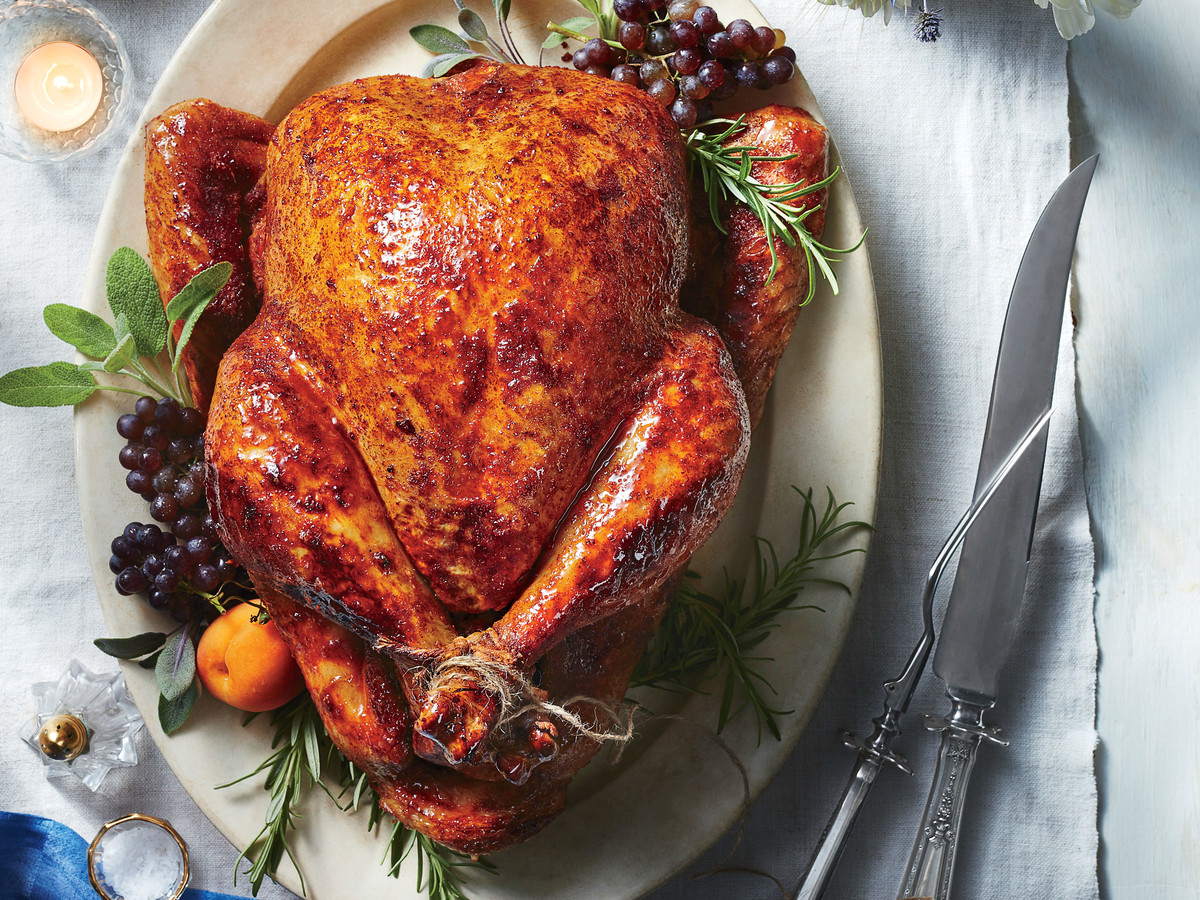 Southern Living House Plans With Pictures Sweet And Spicy Roast Turkey Recipe Southern Living