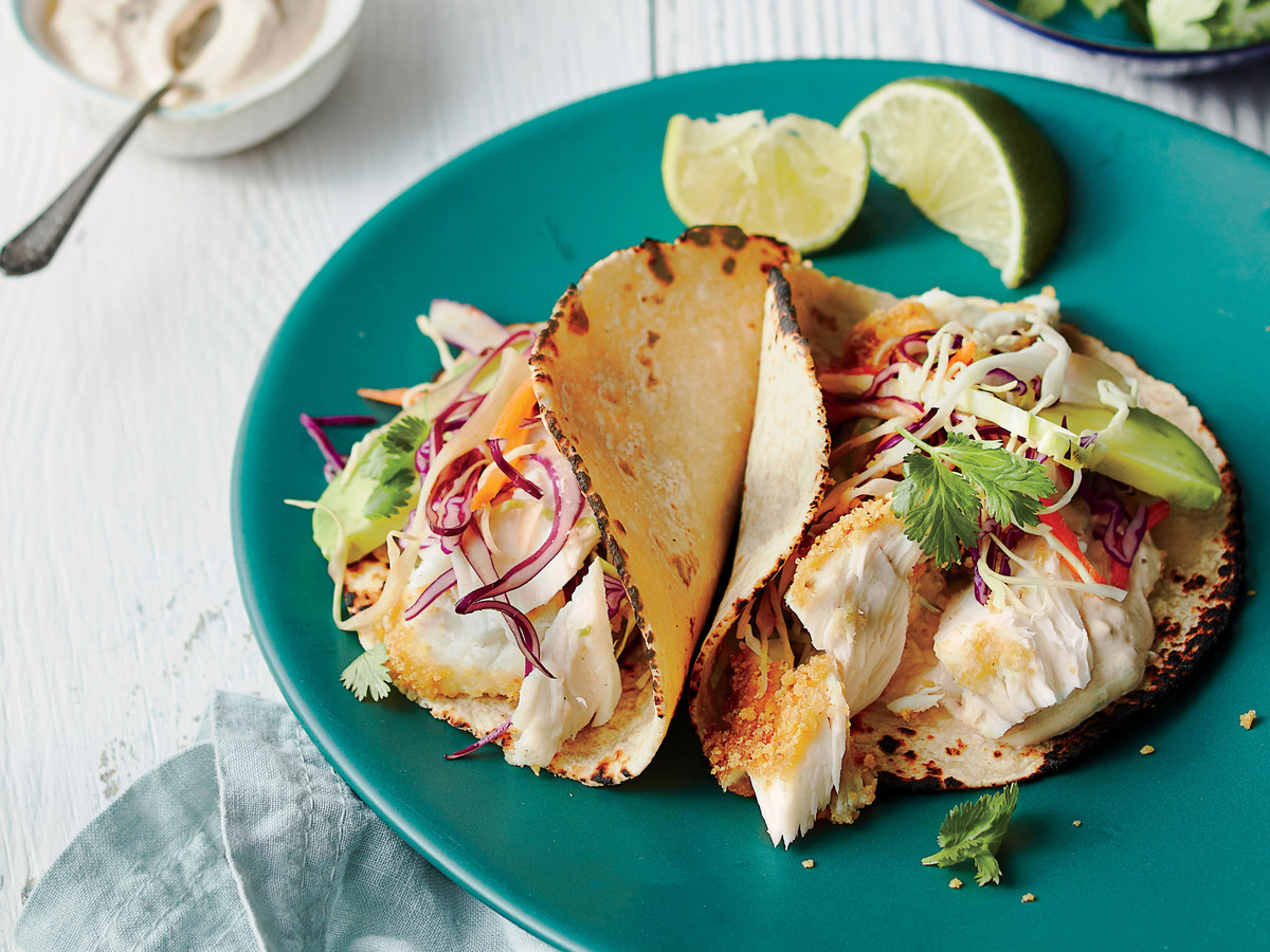 Easy fish tacos that taste great even without the for Fish taco seasoning