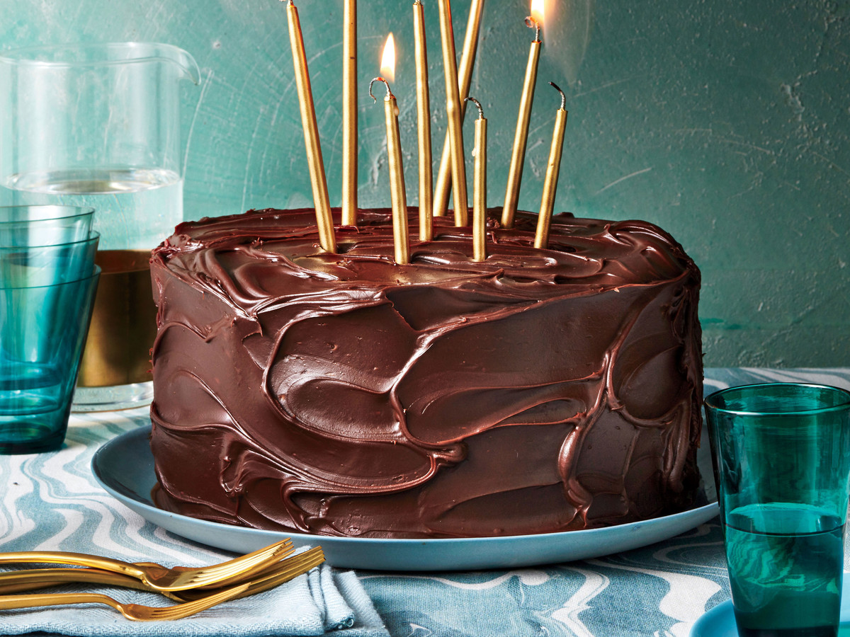 Triple Layer Chocolate Caramel Cake Recipe