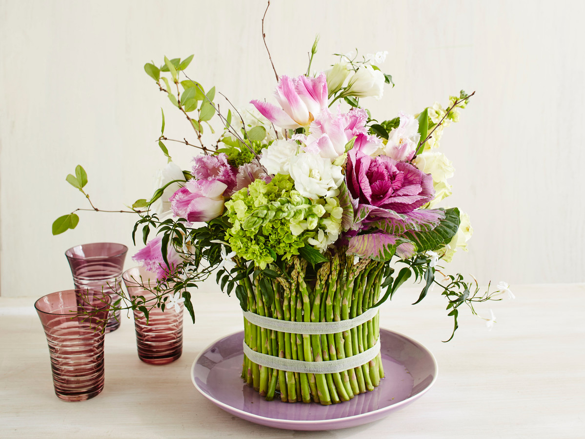 Asparagus Flower Arrangement