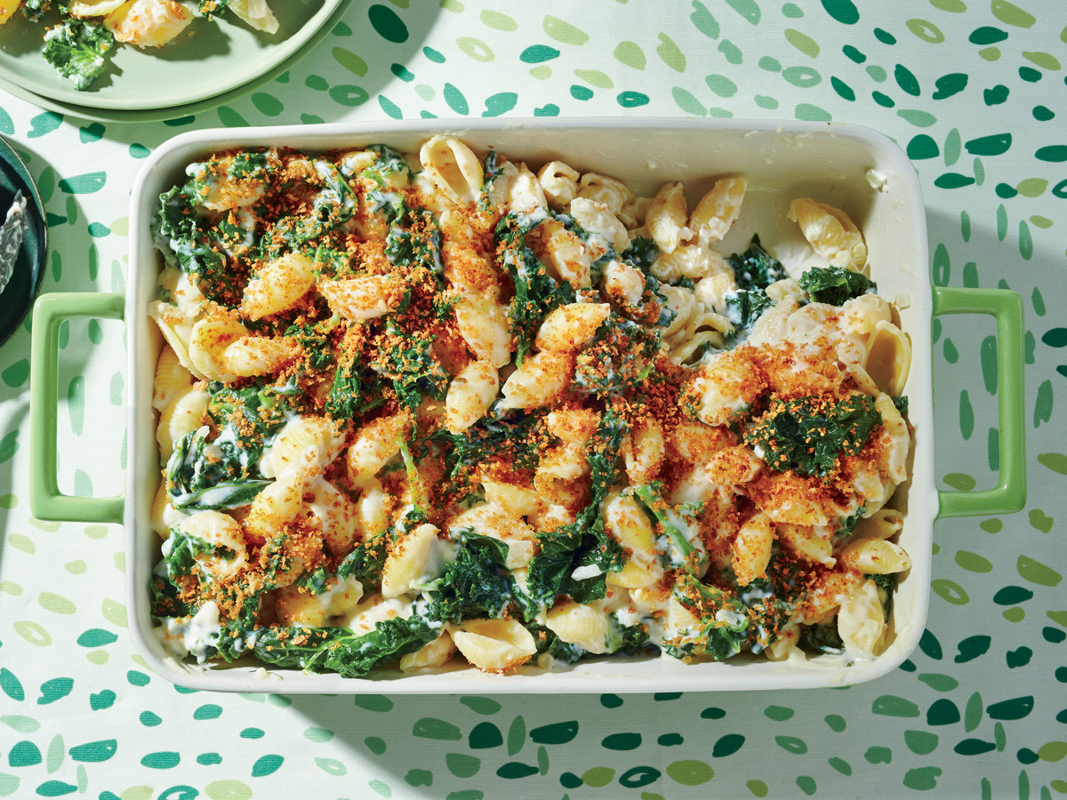 Creamy kale and pasta bake recipe southern living forumfinder Gallery