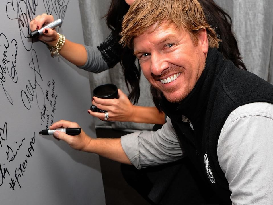 Chip Gaines Signing Wall