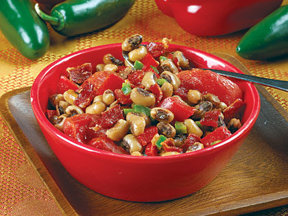 Hot-&-Spicy Black-Eyed Peas
