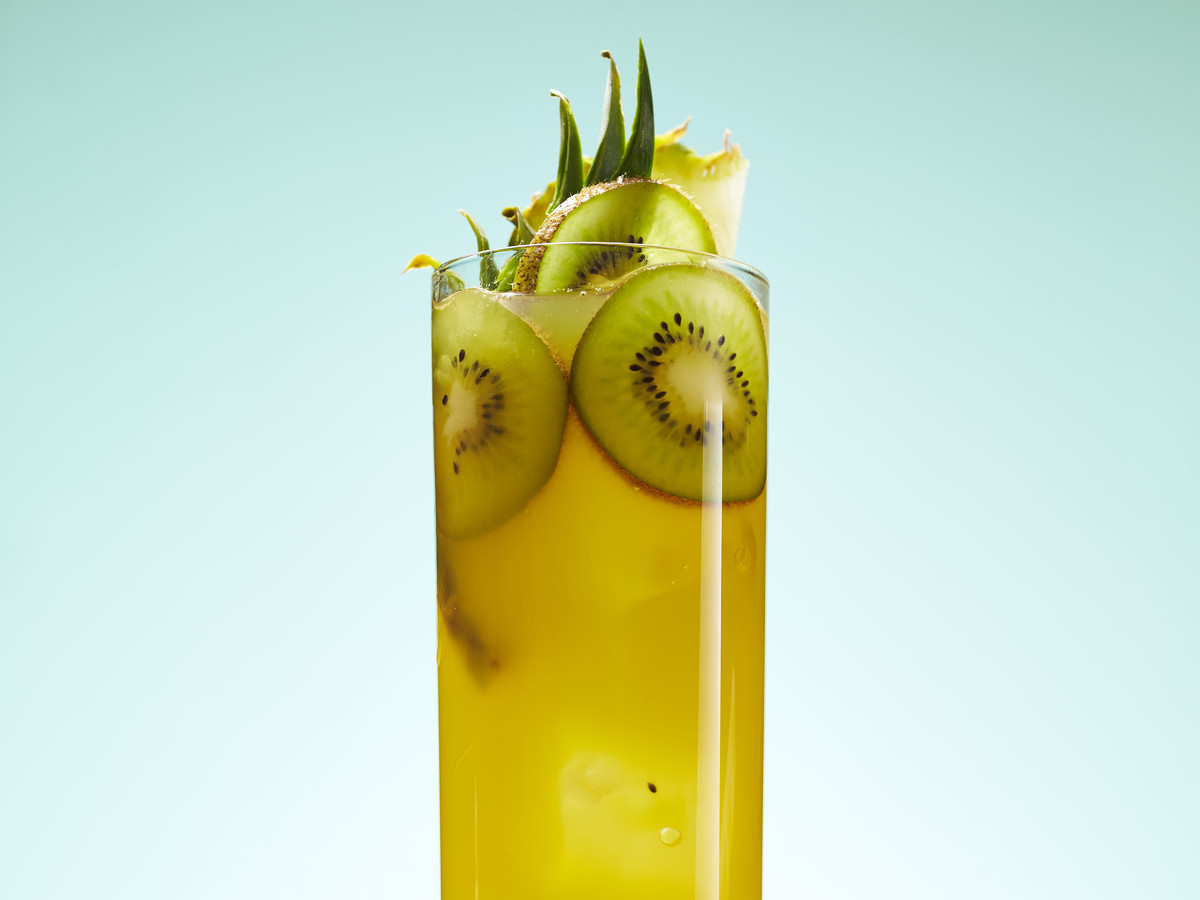 Kiwi Pineapple-Ade Recipe - Southern Living
