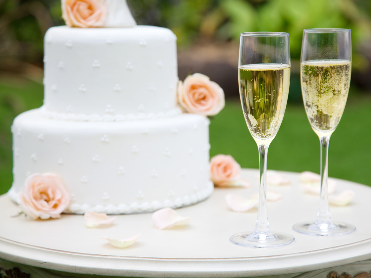wedding cake champagne glasses our go to wedding gift is also the most popular southern 22179