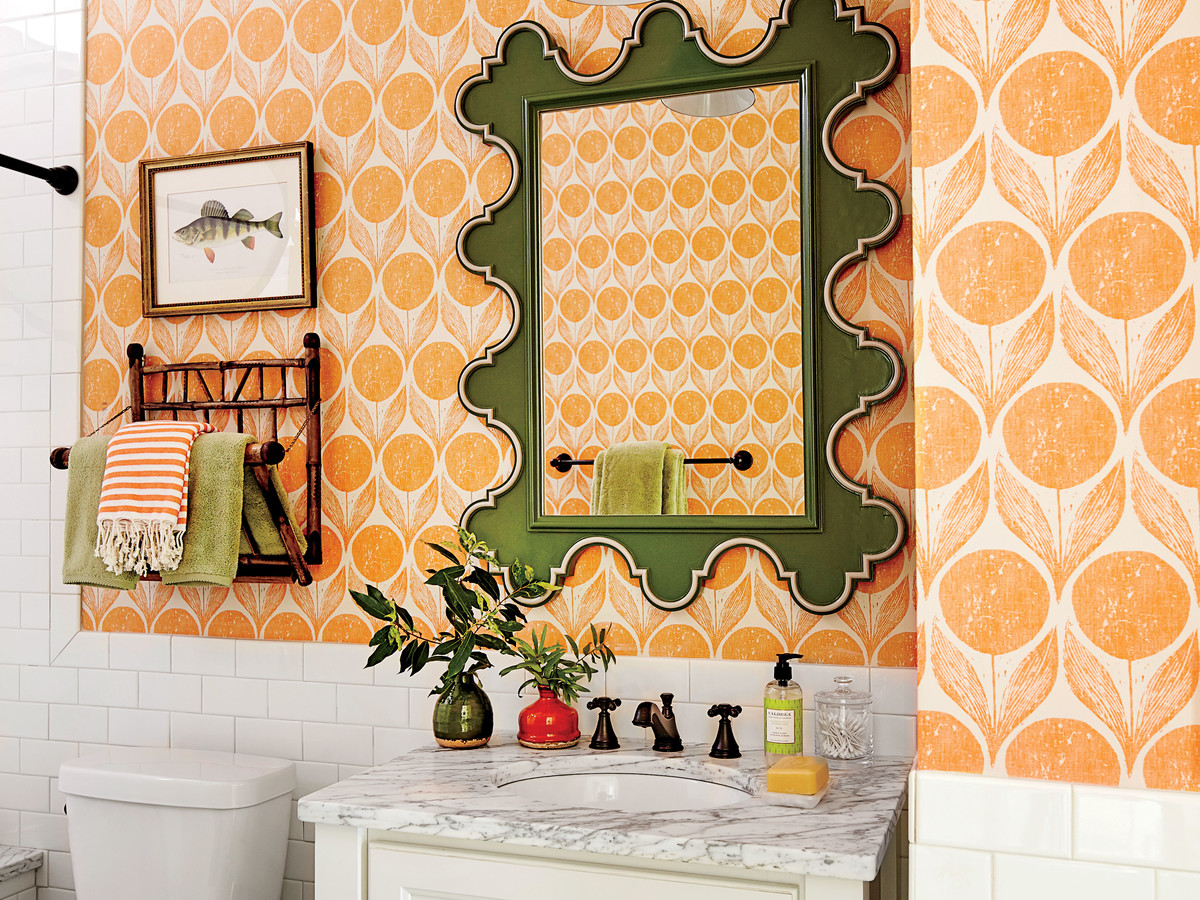 Take A Peek At The Idea House\'s 4 Colorful Bathrooms - Southern Living
