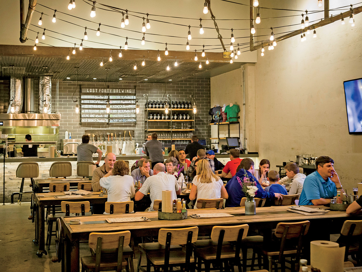 Lost Forty Brewing in Little Rock, AR