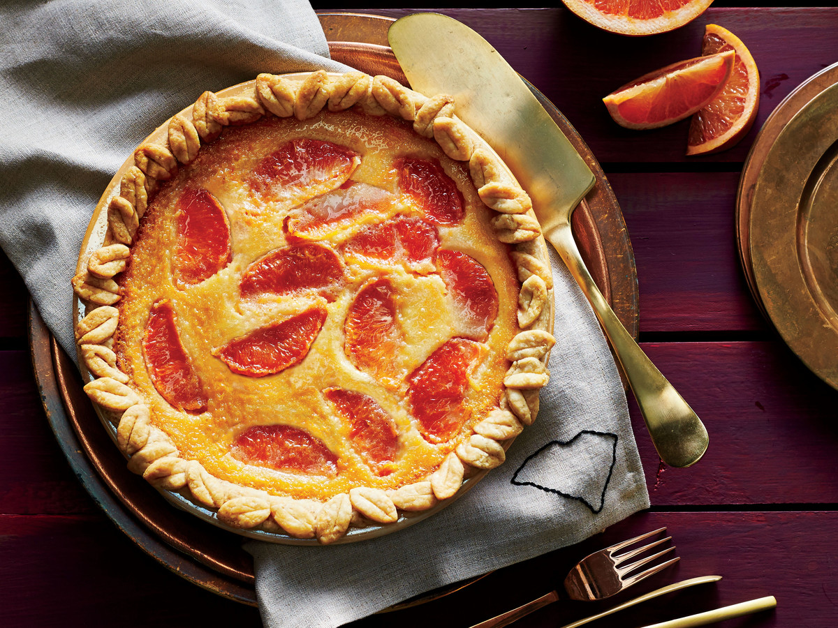 Grapefruit Chess Pie Recipe Southern Living