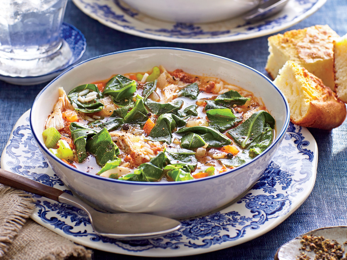 Turkey-and-Collard Green Stew