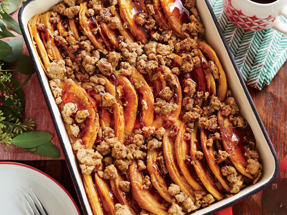 Pancake bake with cinnamon streusel recipe southern living ccuart Image collections