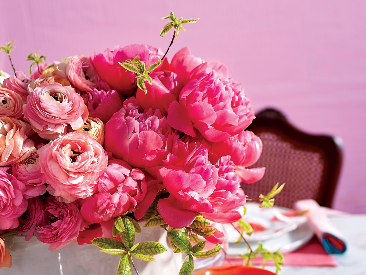 The Secret To The Best Peony Arrangement Southern Living