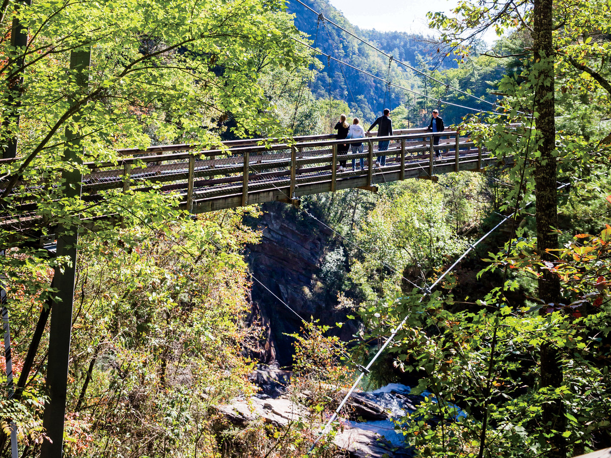 Tallulah Gorge State Park Bridge