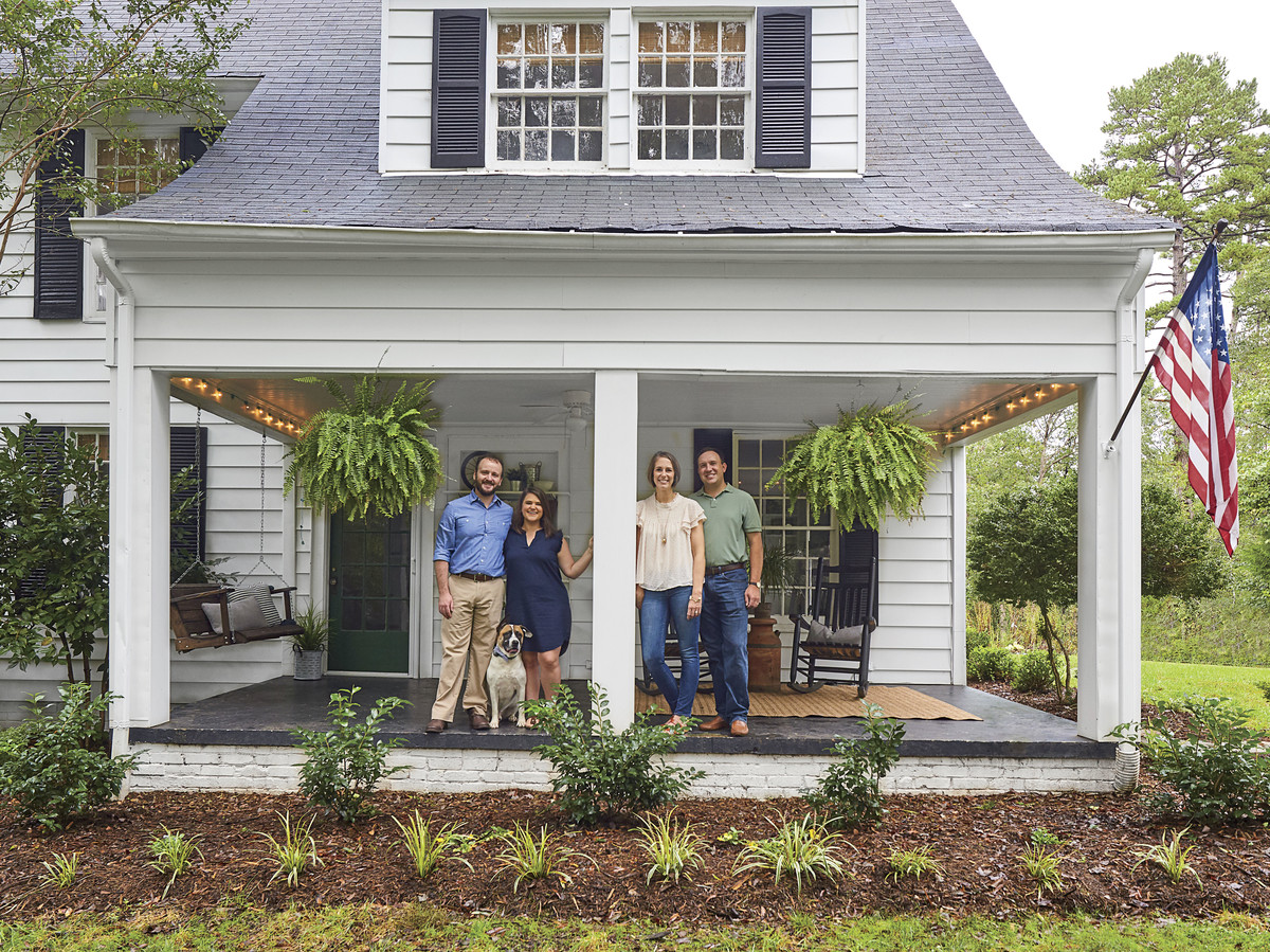 meet the fixer-uppers restoring this 1928 farmhouse in hickory  north carolina