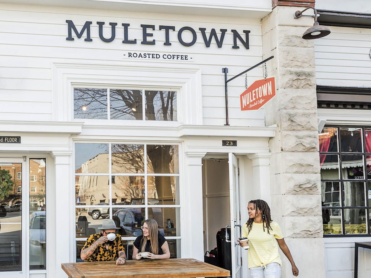 Muletown Roasted Coffee in Columbia, TN