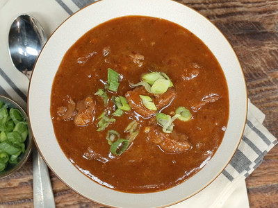 Cooking Light Texas-Style Stew with Brisket