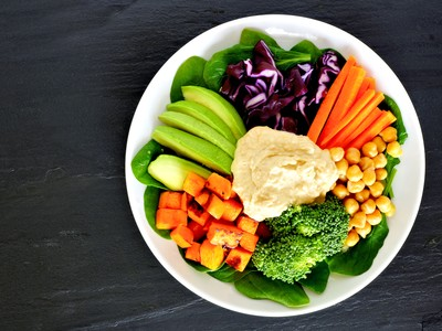 Health 6 ways to add more veggies plate