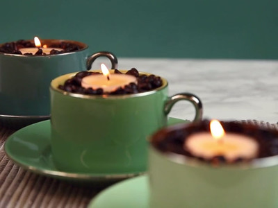 HelloGiggles Coffee Candle Hack