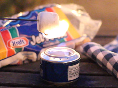 Soda Can Camp Stove