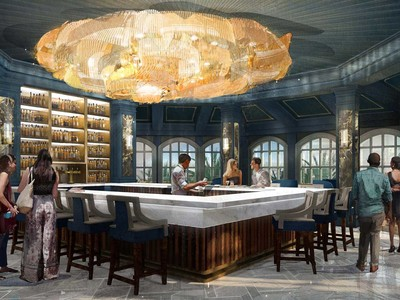 Beauty and the Beast Bar at the Grand Floridian at Walt Disney World Resort