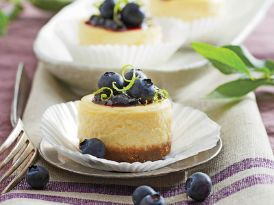 Petite Blueberry Cheesecake