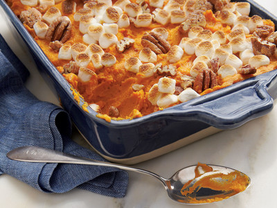 Sweet Potato-Carrot Casserole