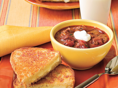Chili and Grilled Cheese Recipes, quick and easy soup recipes
