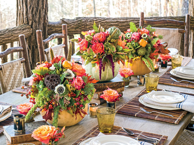 Cozy Tablescape