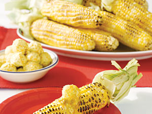 BBQ corn on the cob recipe: Grilled Corn on the Cob with Citrus Butter