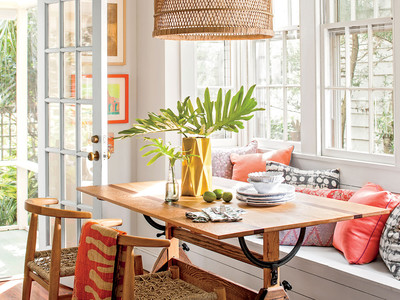 Bright Breakfast Nook